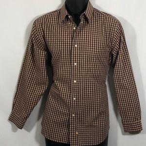 Claiborne dress shirt fall colors  16 32/33 $26 OB